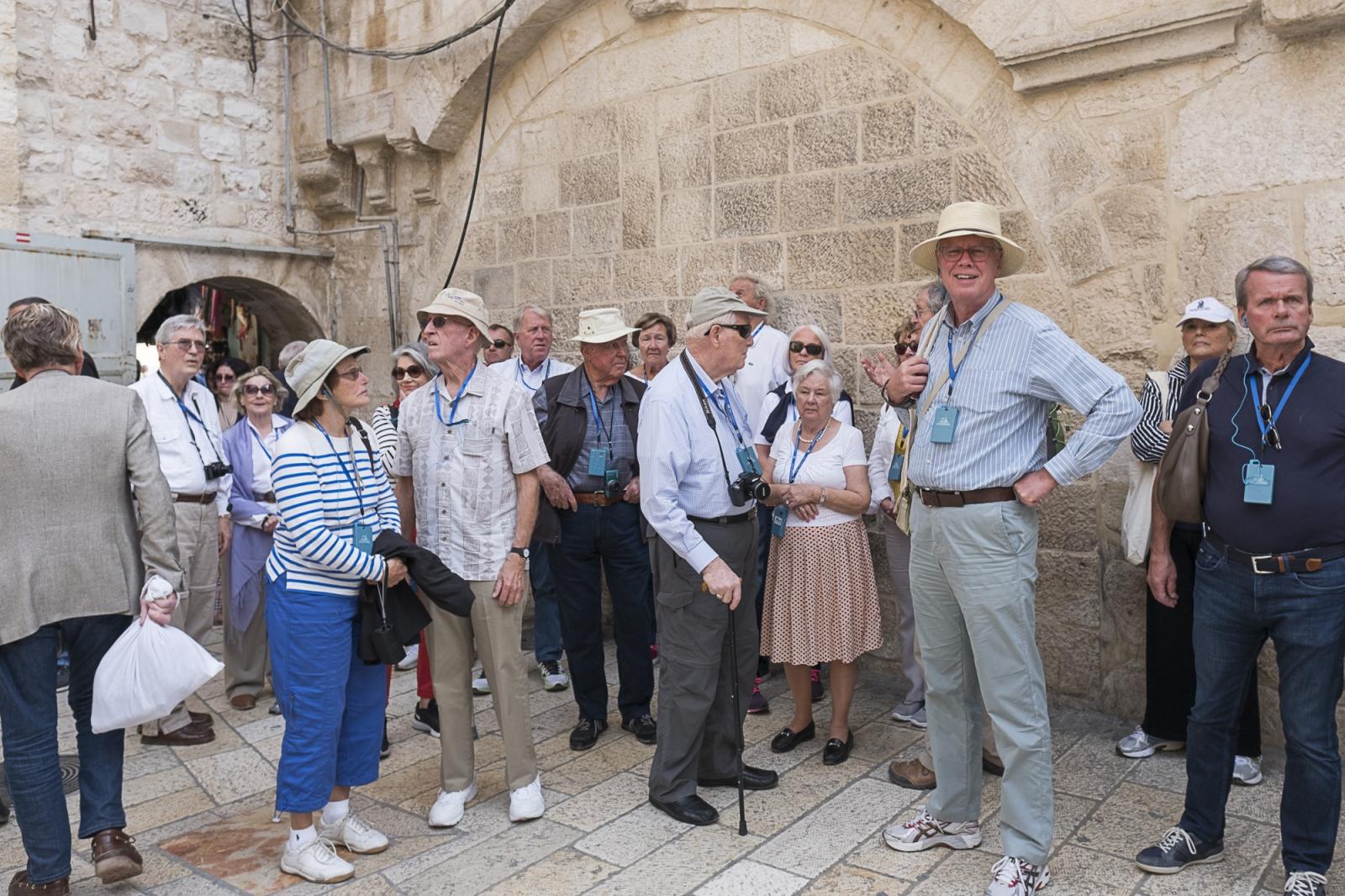 Tourists, Christian Quarter