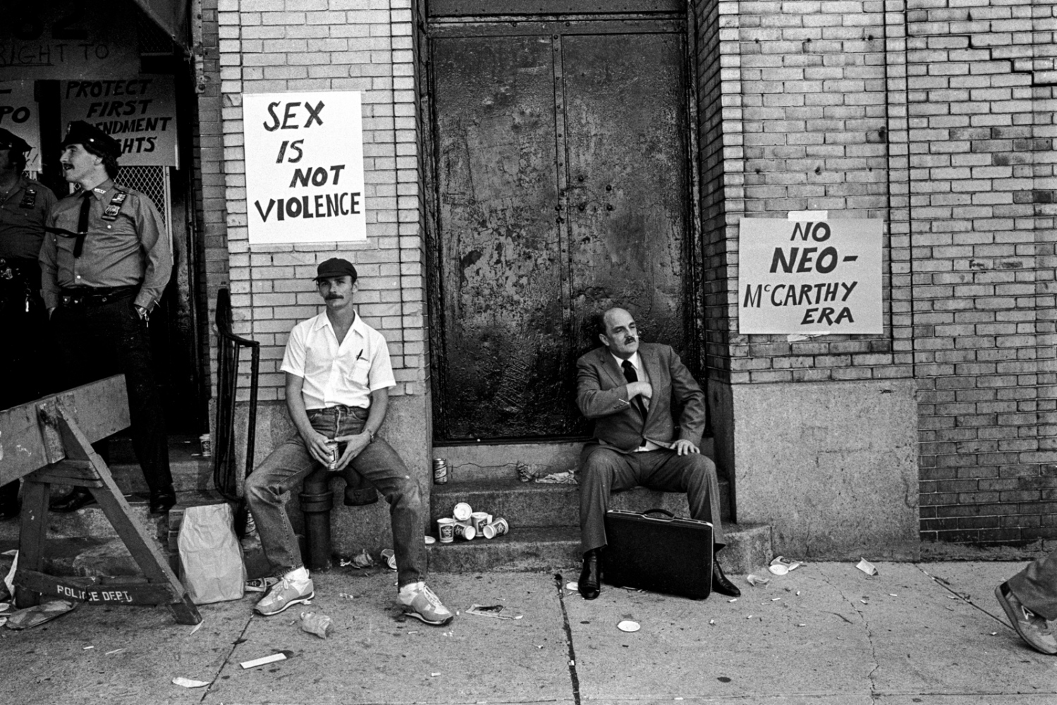 Sex convention. 34th St & 10th Ave, 1982