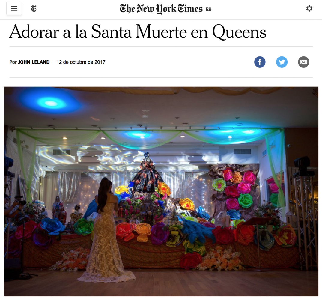 Art and Documentary Photography - Loading SantaMuerte-NYTesp.png