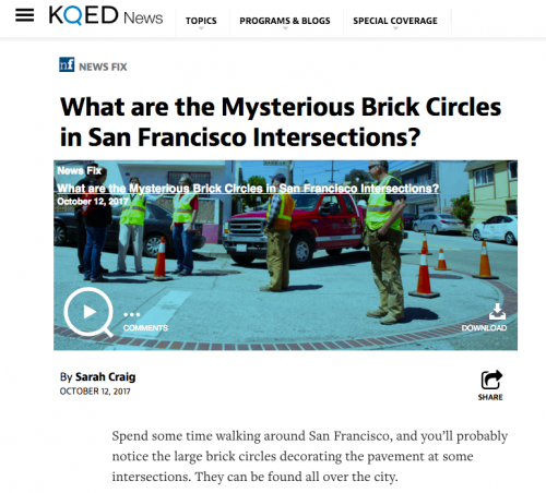 Mysterious Brick Circles
