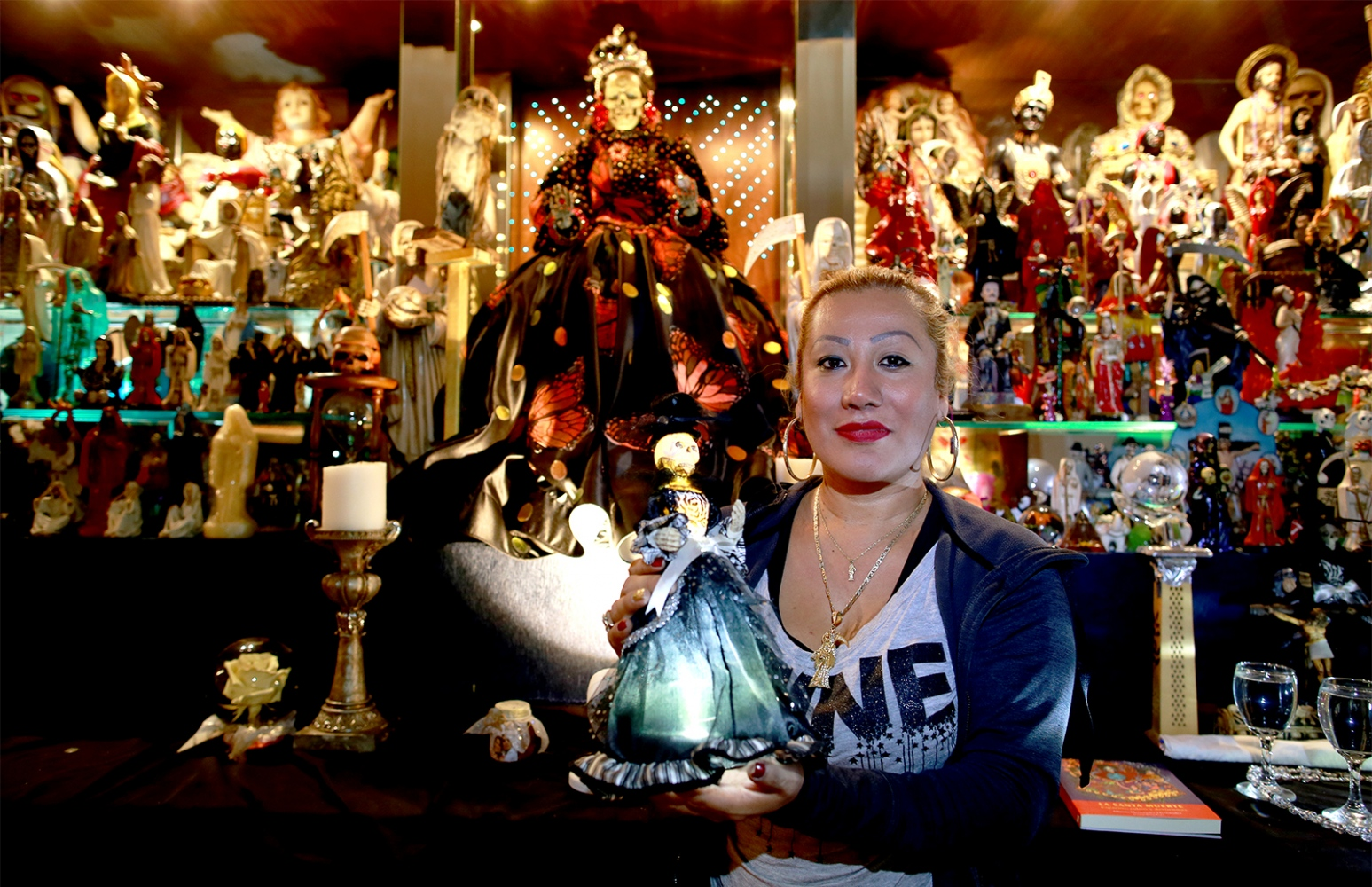Arely Vazquez - Santa Muerte follower - Queens - NY