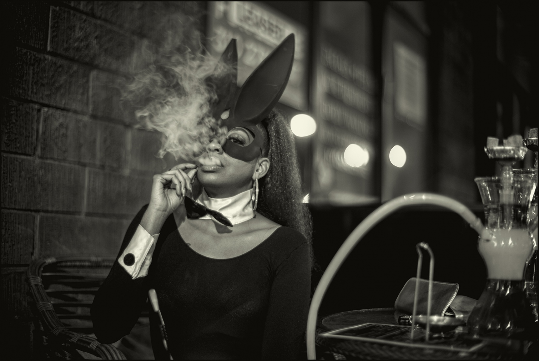 Ashley, Hookah Lounge, Los Angeles, California, October 2017.