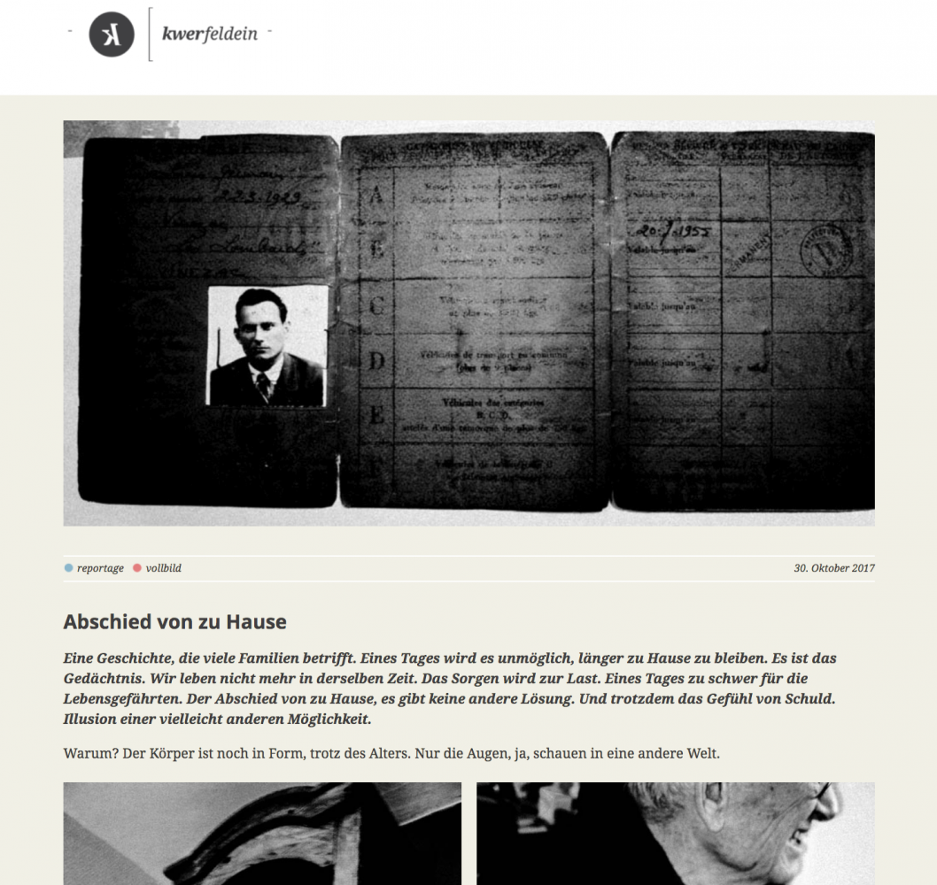 Art and Documentary Photography - Loading Kwerfeldein_Abschied.png