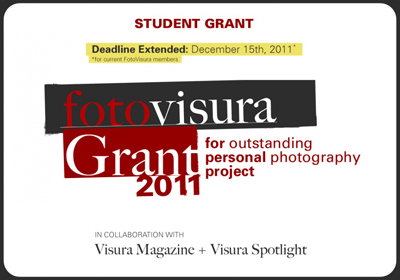 2011 FotoVisura Student Grant