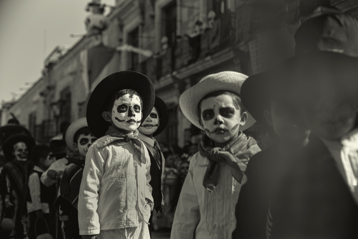 Childrens Day, Halloween, Oaxaca, Mexico,October 2017 .