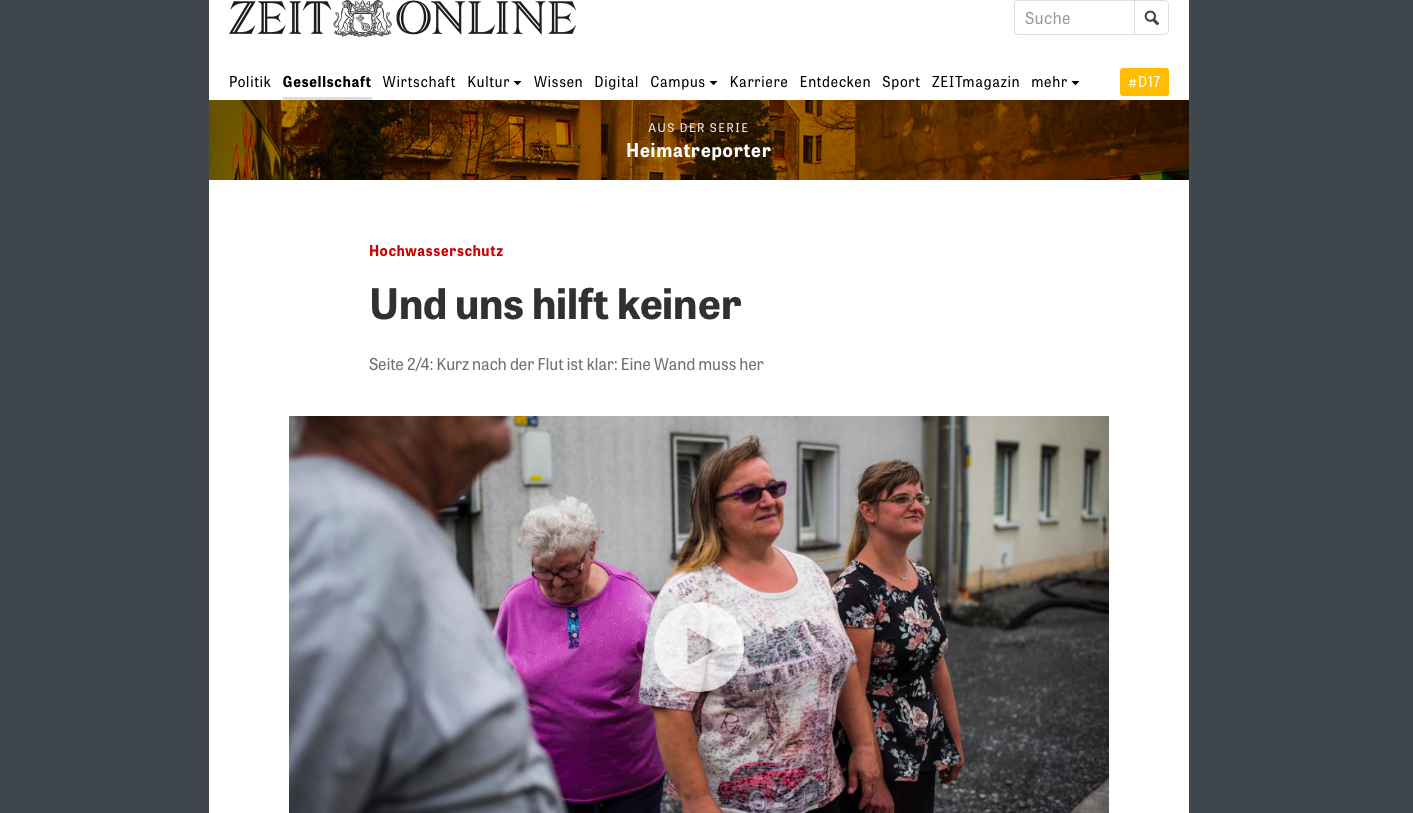 Art and Documentary Photography - Loading Zeit_Online_17.08.2017_Riesa_Wochwasser.png