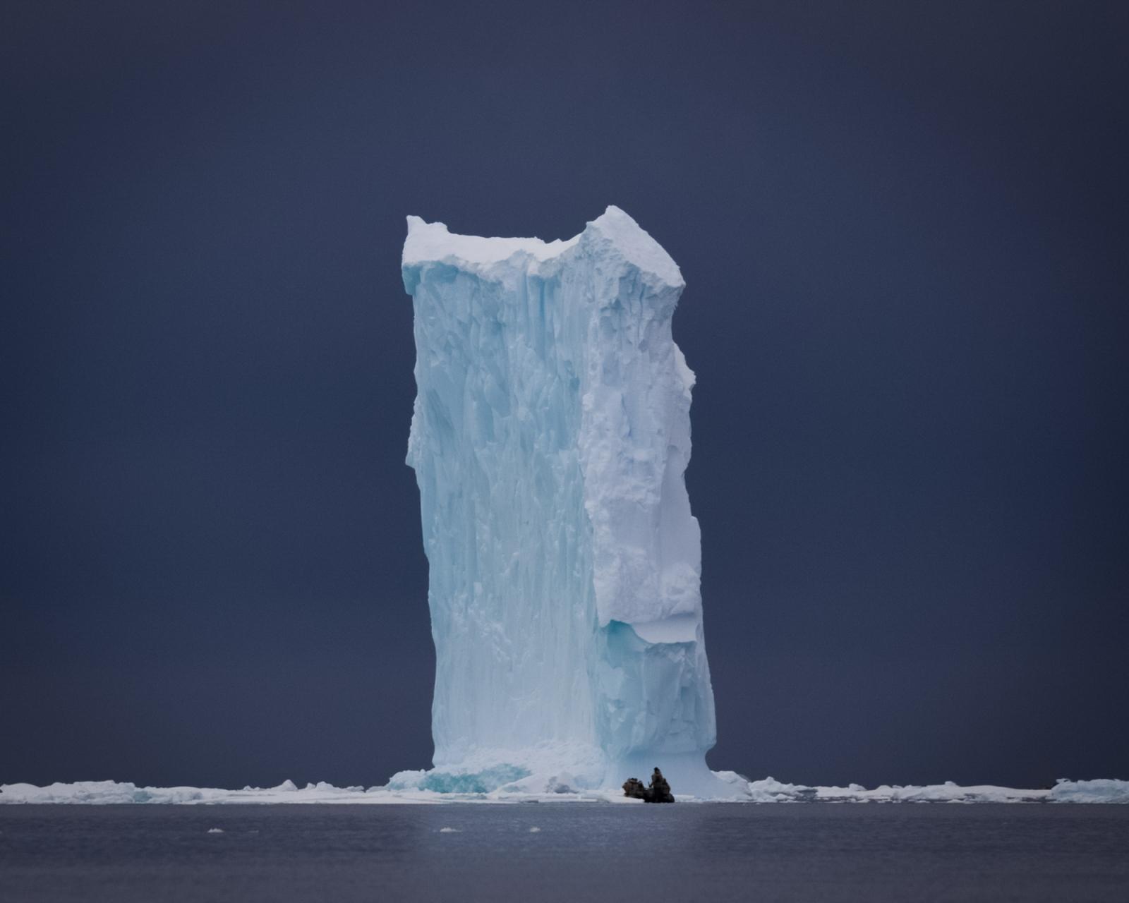 Iceberg in Wilhelmina Bay, Antarctica.