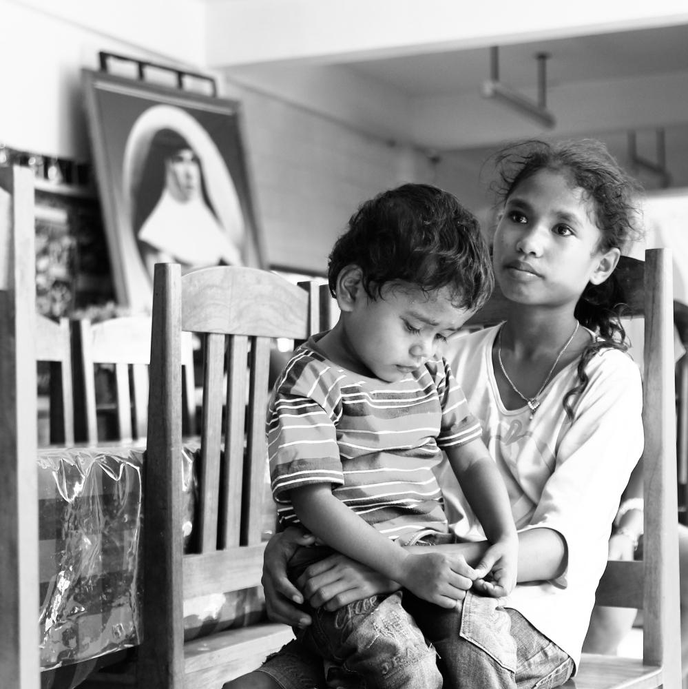 East Timor Orphans. Thousands of children...