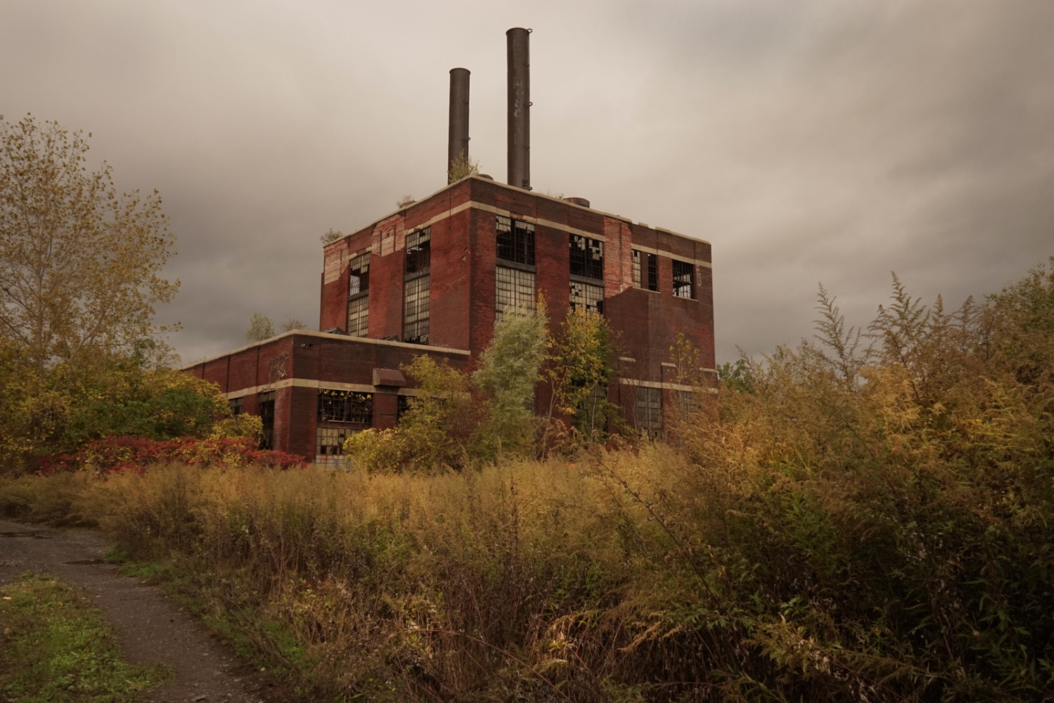 The former Beaunit Power plant, Broad Street< Utica, NY