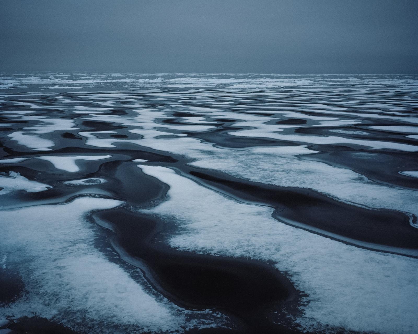 Sea ice near Resolute, Nunavut. Canada, 2014.