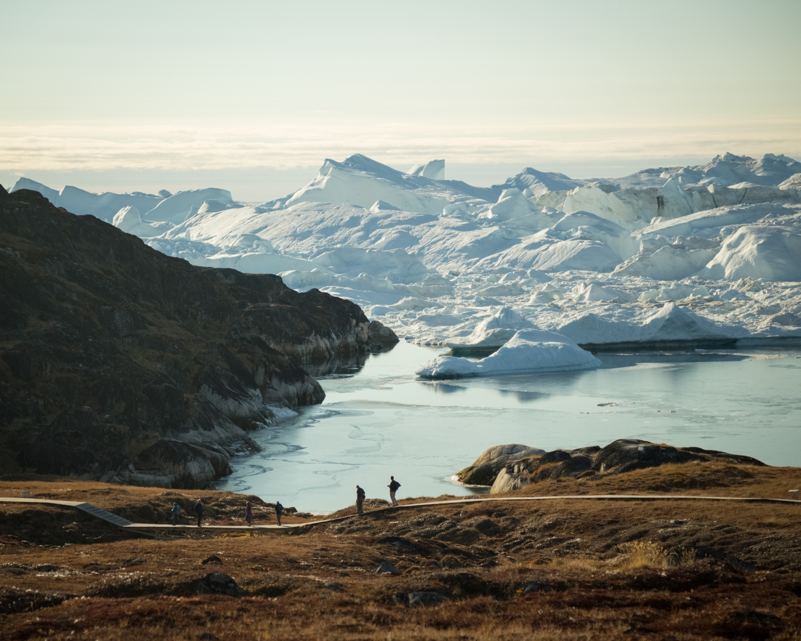 Ilulissat Icefjord, West Greenland, 2016.