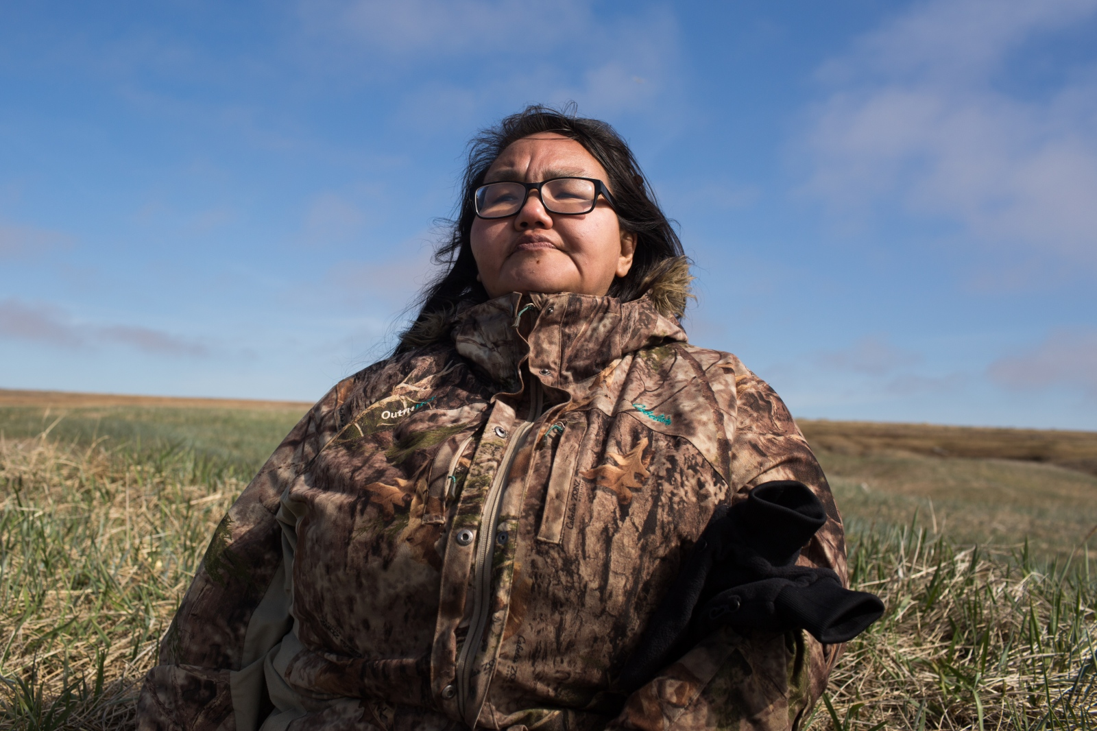 "Susan Aakapak Apassingok says that she is heartbroken over the way her son, Chris, was harrassed on social media after succesfully striking a bowhead whale. ""We struggle to buy gas and food,"" she says. ""They risk their lives our their to feed us."""