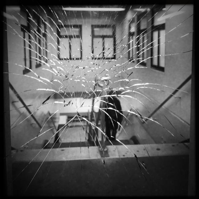 Photography image - Shattered, Bronx