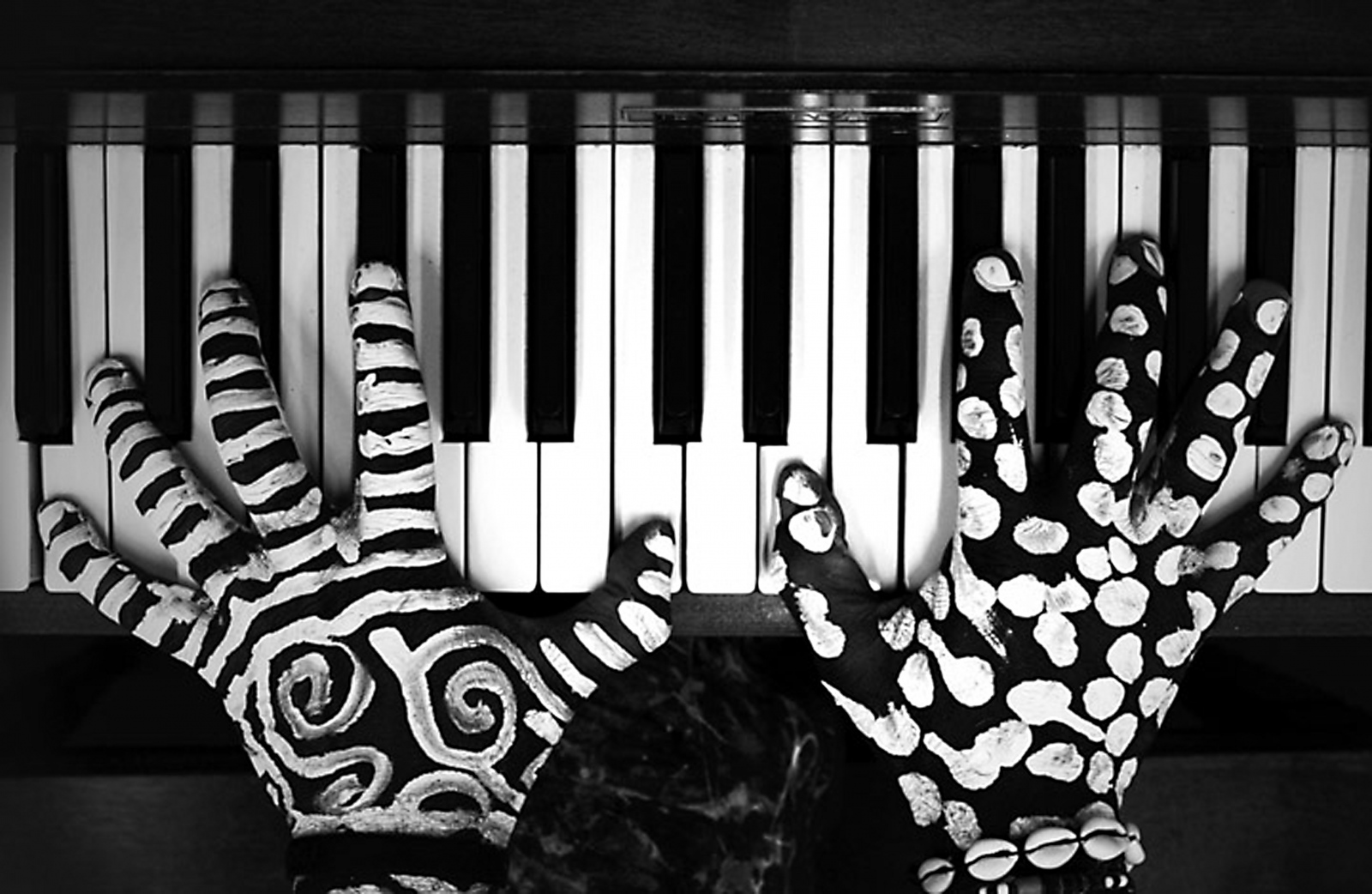 Hand on the Piano, Austin, Texas - USA