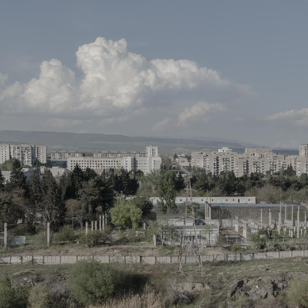 The outskirts of Tbilisi, the Georgian capital.⠀