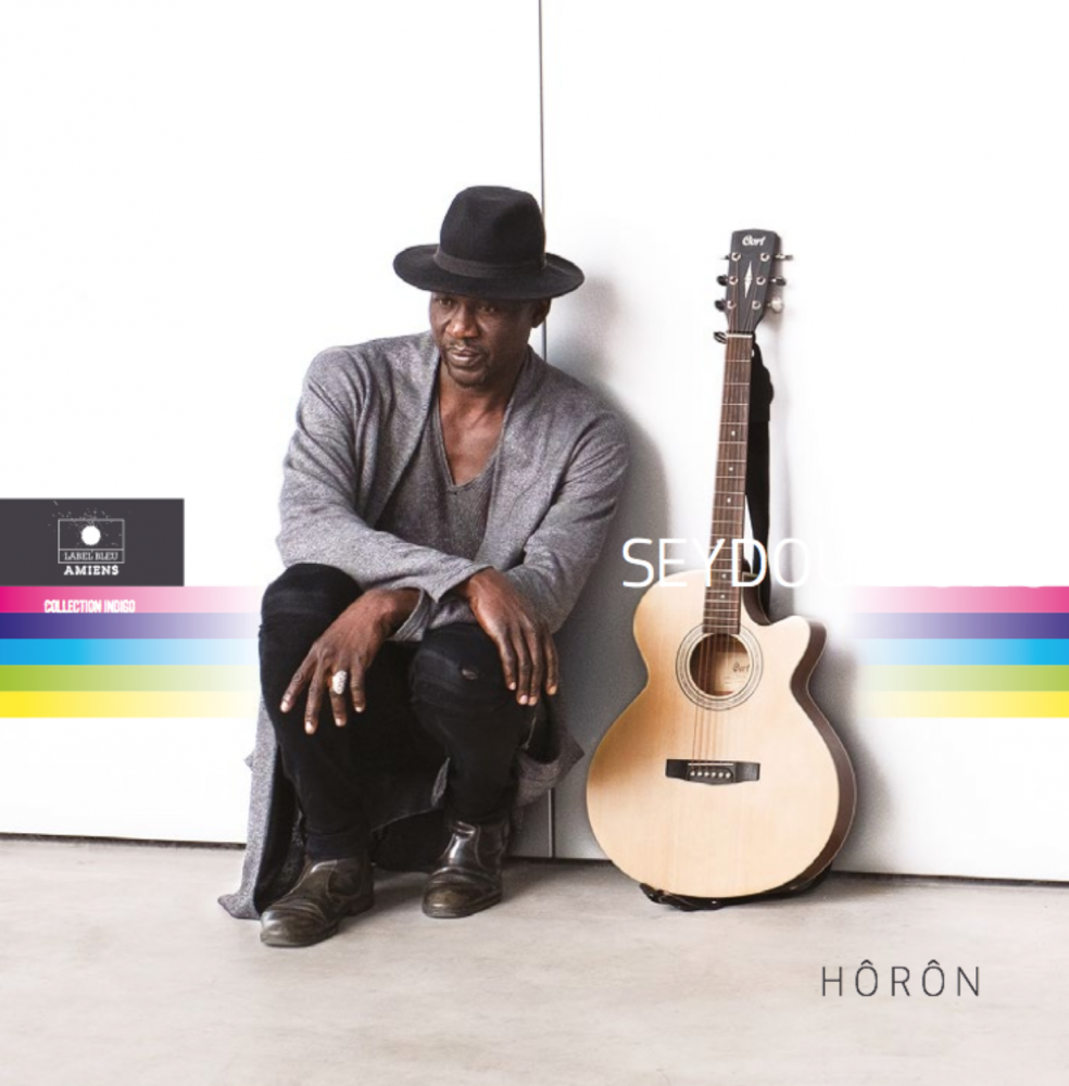 "Seydou Boro, Album cover ""Hôron"", Label Bleu, 2016"