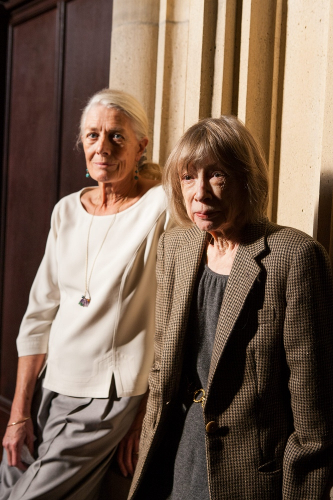 Joan Didion and Vanessa Redgrave