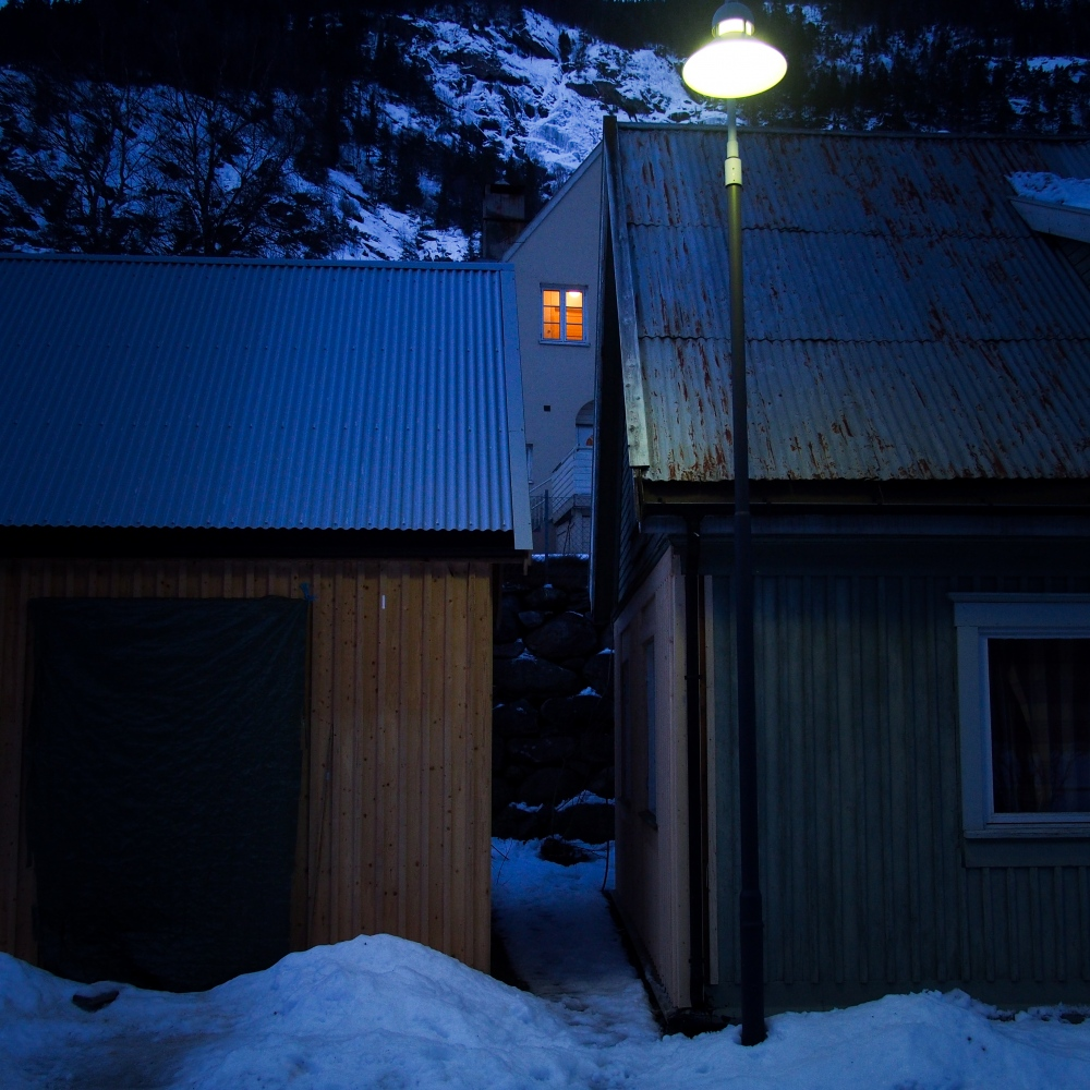 Rjukan, Norway, 2015.As the village isn't reached by the sun during winter, temperatures are particulary low.