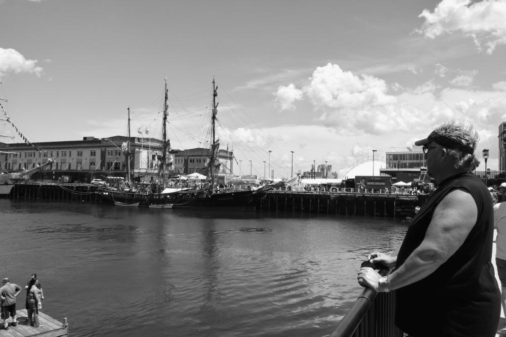 Photography image - Loading boatmanbandw_copy.jpg