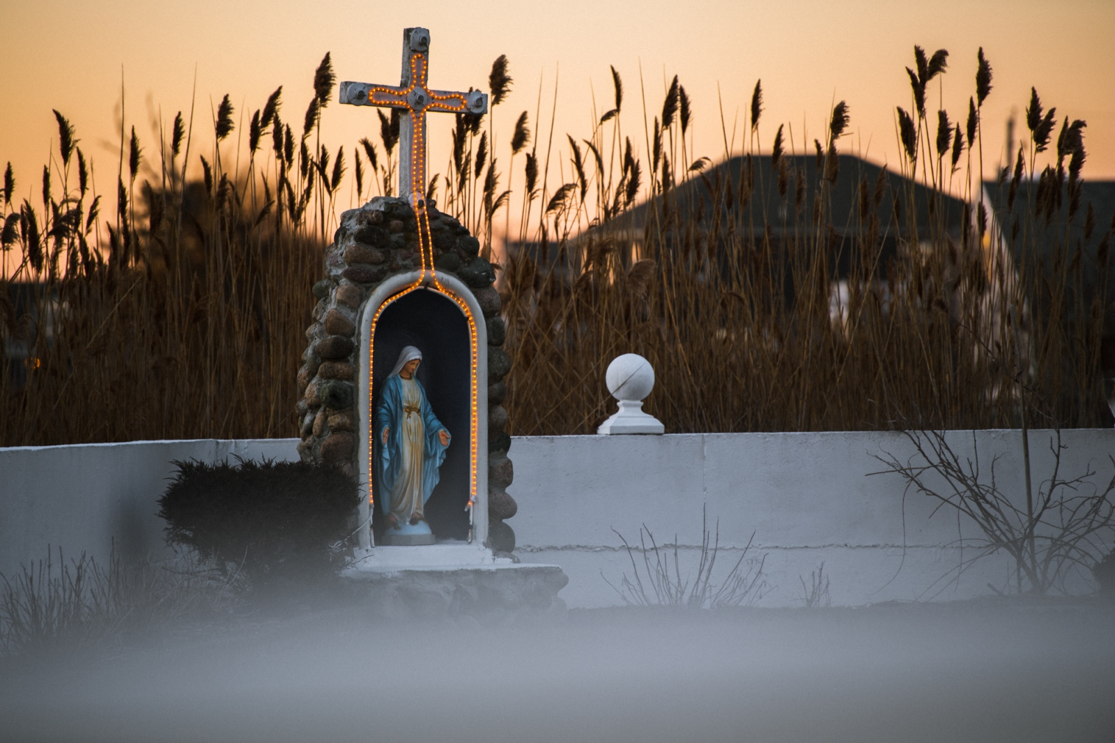 I found this Virgin Mary Grotto during a recent...