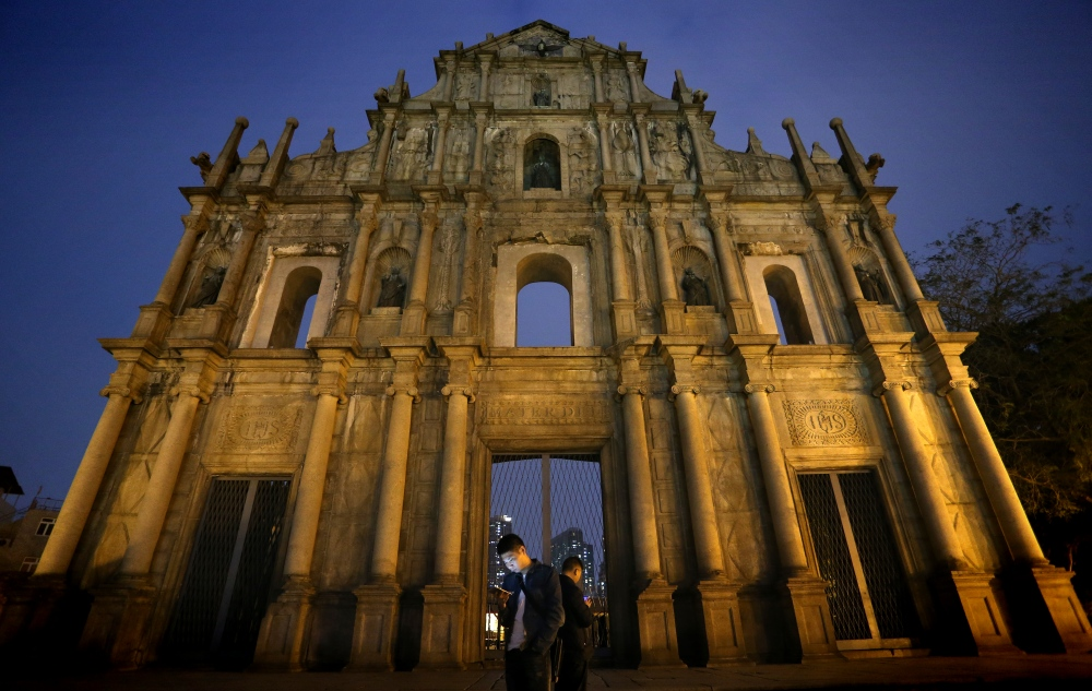 Photography image - Stay Tuned - Ruins of Saint Paul, Macau (China)