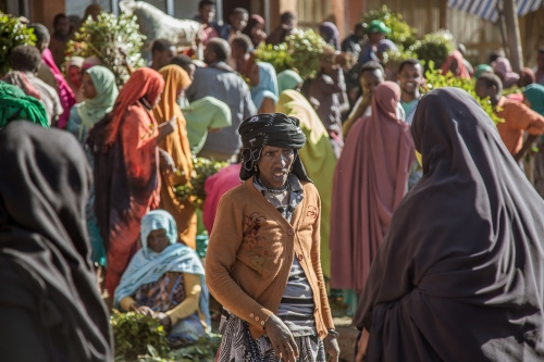 Much of Ethiopia's prime khat grows in the hills around the prominent eastern Ethiopian cities of Dire Dawa and Harar, and the small town of Aweday is the center of the booming trade.