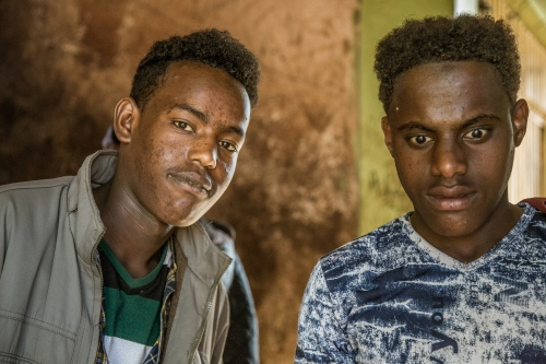 "Young guys experiencing ""mirqaan"" - the buzz that khat chewing can give. Though khat is generally described as a mild stimulant, there is evidence of overuse and addiction. Long-term use or abuse has been linked to ""insomnia, anorexia, gastric disorders, depression, and liver damage"", according to a 2009 Austrian study."