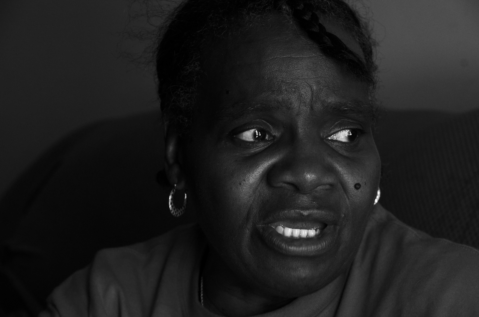Shirley, 62, has been a recovering addict since the 60s and is HIV positive.