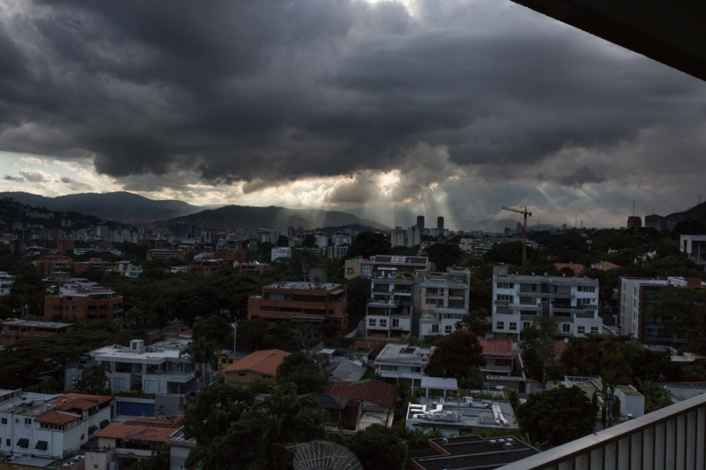 A view of Altamira, an upper middle class sector of Caracas in which most of the girls live. Altamira, Caracas. November 2nd, 2017. Caracas is the most dangerous city in Latinamérica and one of the most in the world. The country, Venezuela, is facing the worst politic, economic and social crisis of its modern history.