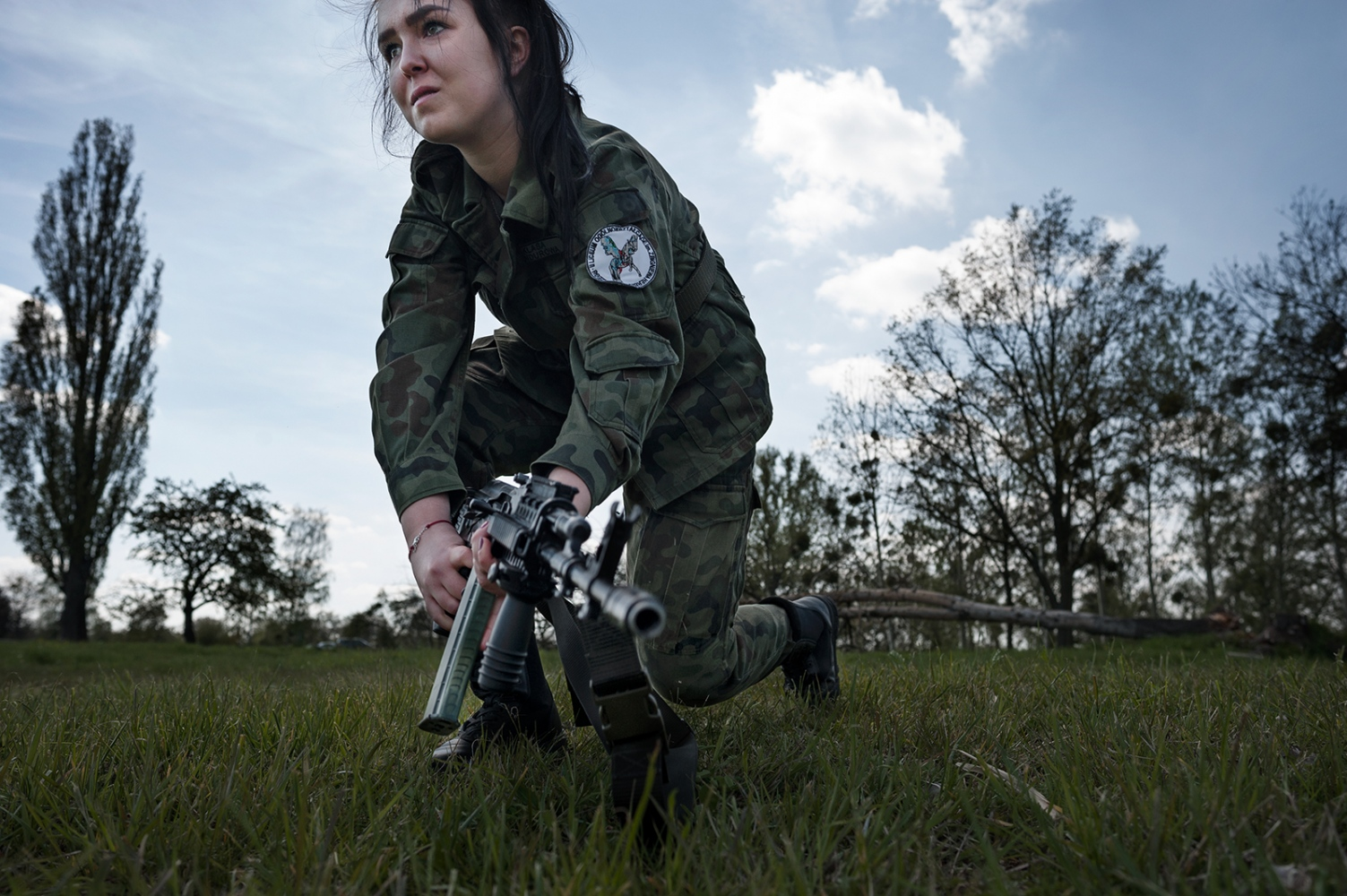 """One student (17 years old) from the public high school in B. during practical activities carried out by the Polish Army within the frame ofa """"Military Profile Classes"""" program in public school. During those activities students handle real weapons and shoot with real ammunition."""
