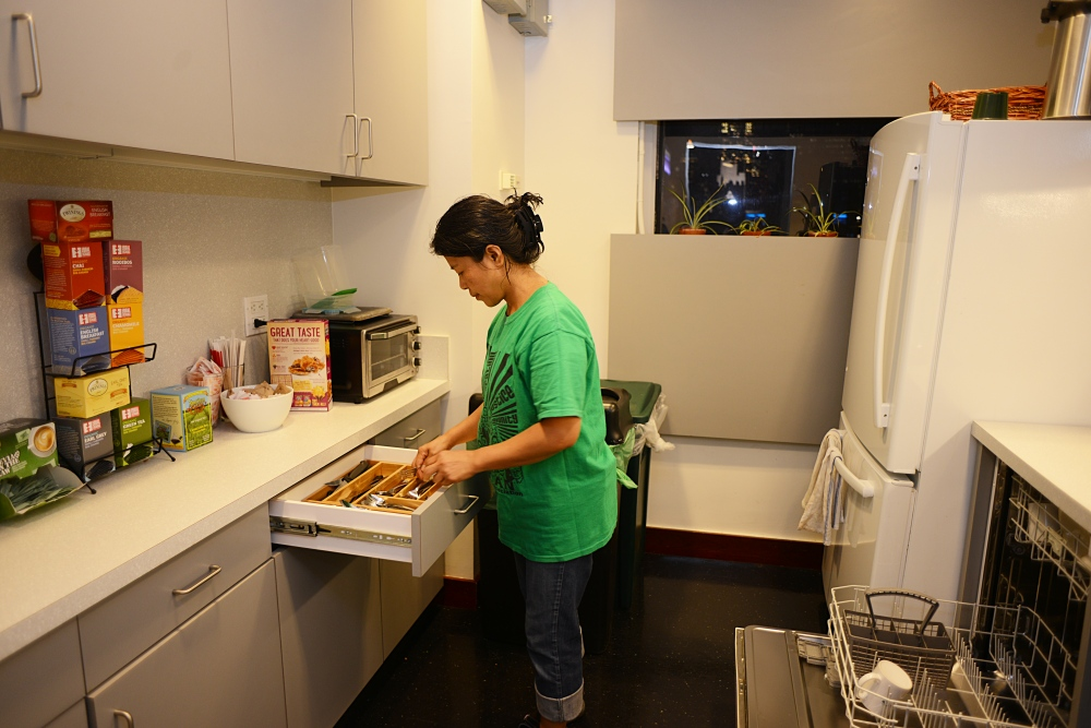 Edith Mendoza, 51, cleans offices in Manhattan, NY three times a week. After November 2015, it was too long to do this hard work. I would start my day before 6 a.m. and end after midnight. It seemed like I had been in a tournament of boxing or a marathon. I only feel rest on Sunday when I express myself to God and pray, 'Help me Lord please give me rest I'm so tired.' So what can I do? Just do the work because this my job. I don't want to lose my job because I need money.""