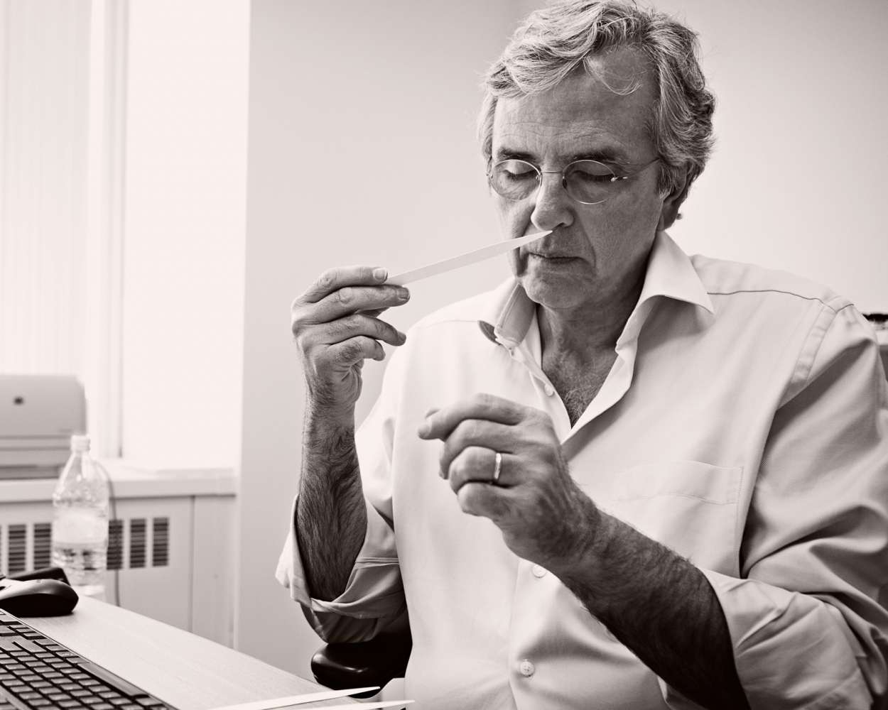 NYC Makers: The 2014 MAD Biennial and Book IFF's Master Perfumer Carlos Benaim in his office in NYC