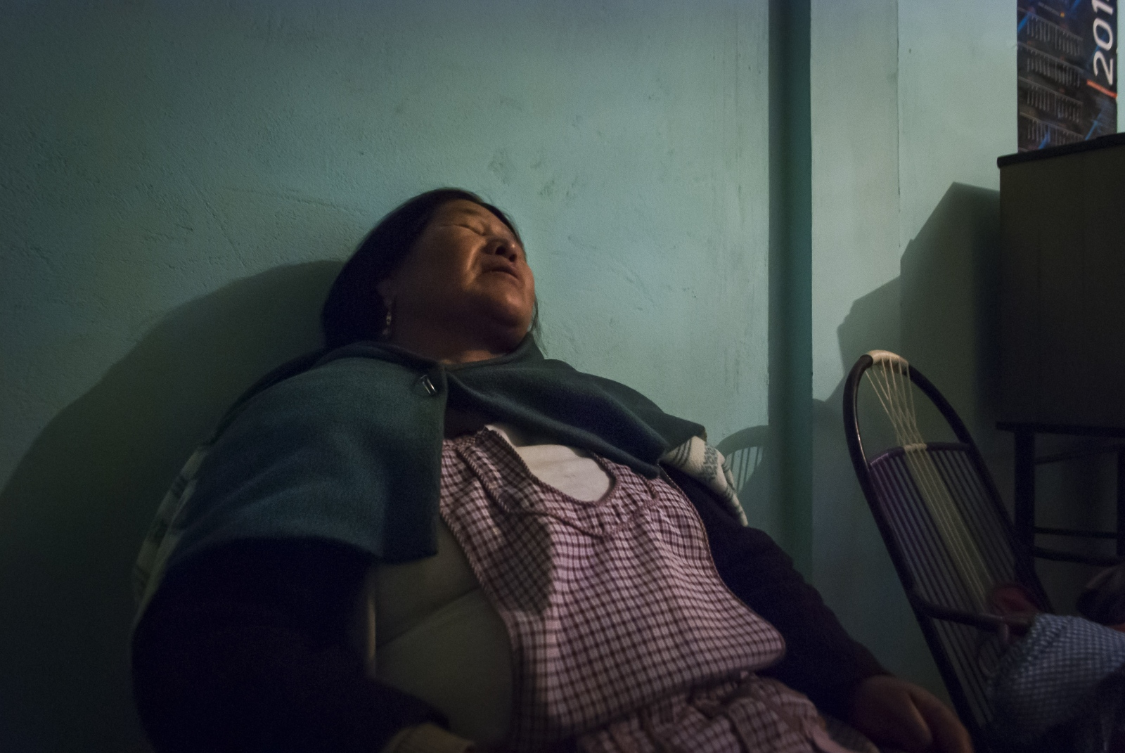 "Isabel works an average of ten and a half hours at her job. She said, ""There are moments that it's really hard to be there all day until such late hours. The salary is small and there is no security or support, if I am sick for example."" Sivingani, Cochabamba, Bolivia, 2014."
