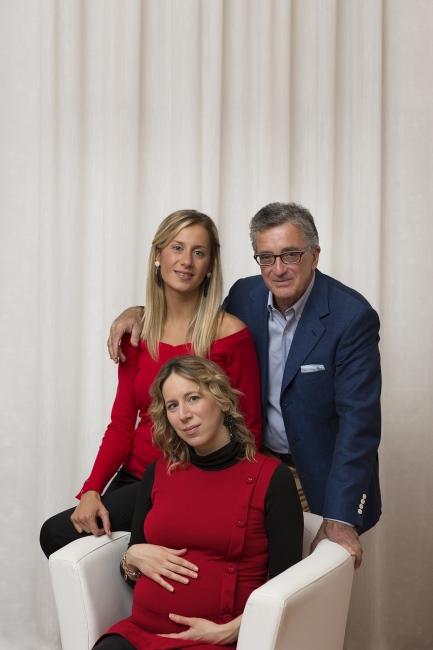 Il dott. Ciro Vestita e le sue collaboratrici