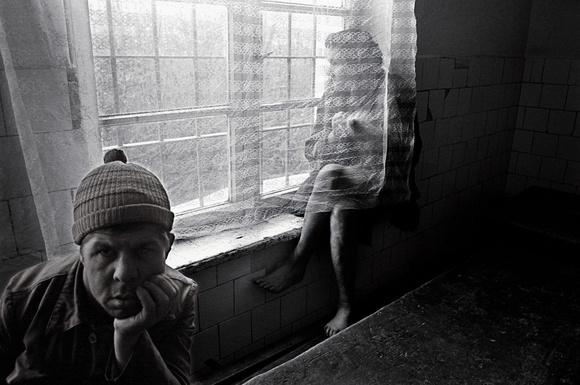 Tigra Ocna, Romania, psychiatic hospital.