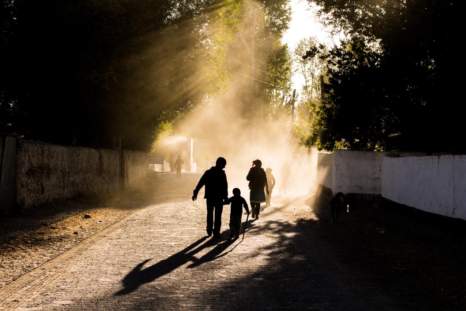 Rural Tajikistan.