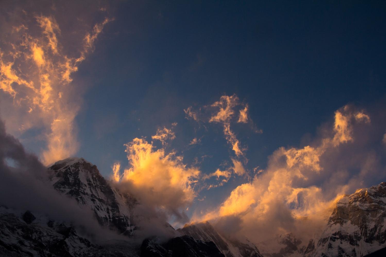 Annapurna Himalaya, Nepal.