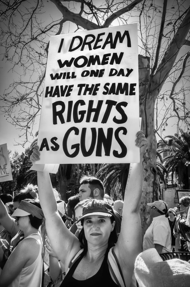 Womens March 2017, Eola Park, Orlando, FL