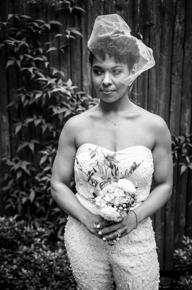 Bridal portrait of Jessie.