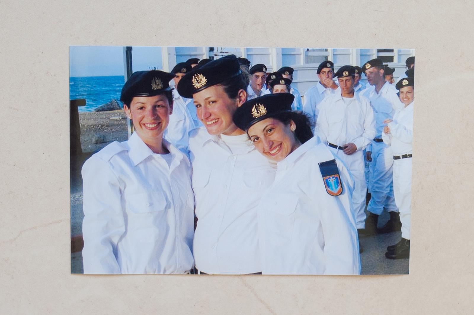 Sapir served in the Israeli navy.