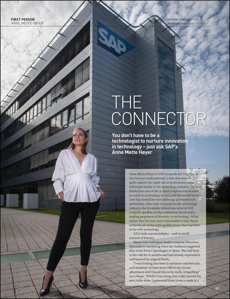 Portrait at SAP for Wardour Publishing (UK) Germany