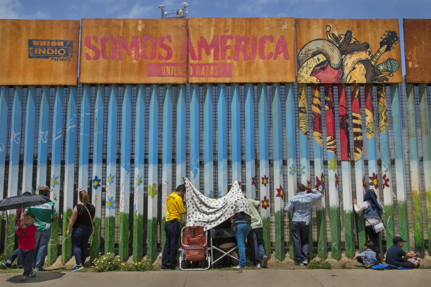 At Friendship Park, the only federally established binational meeting place along the U.S.-Mexico border, families separated by immigration laws gather at both sides of the fence to spend some time together on the weekends. On the U.S. side, the area for visitation is only open a few hours on Saturday and Sunday and the Border Patrol is always vigilant.
