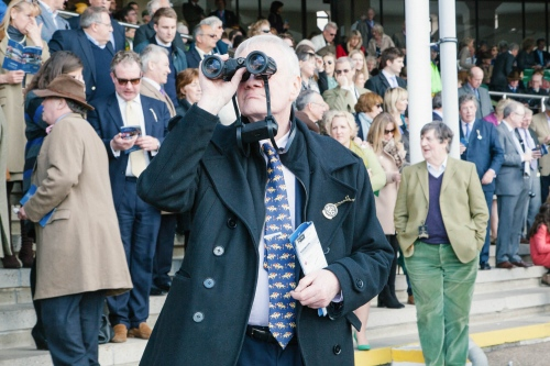 Newmarket Races, photographed for The Gentleman's Journal.