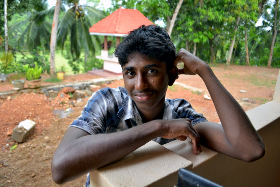 Young man in Payagala