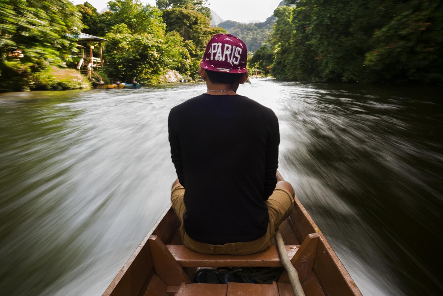 TheSungai Melinau river, Sarawak, Malaysia.