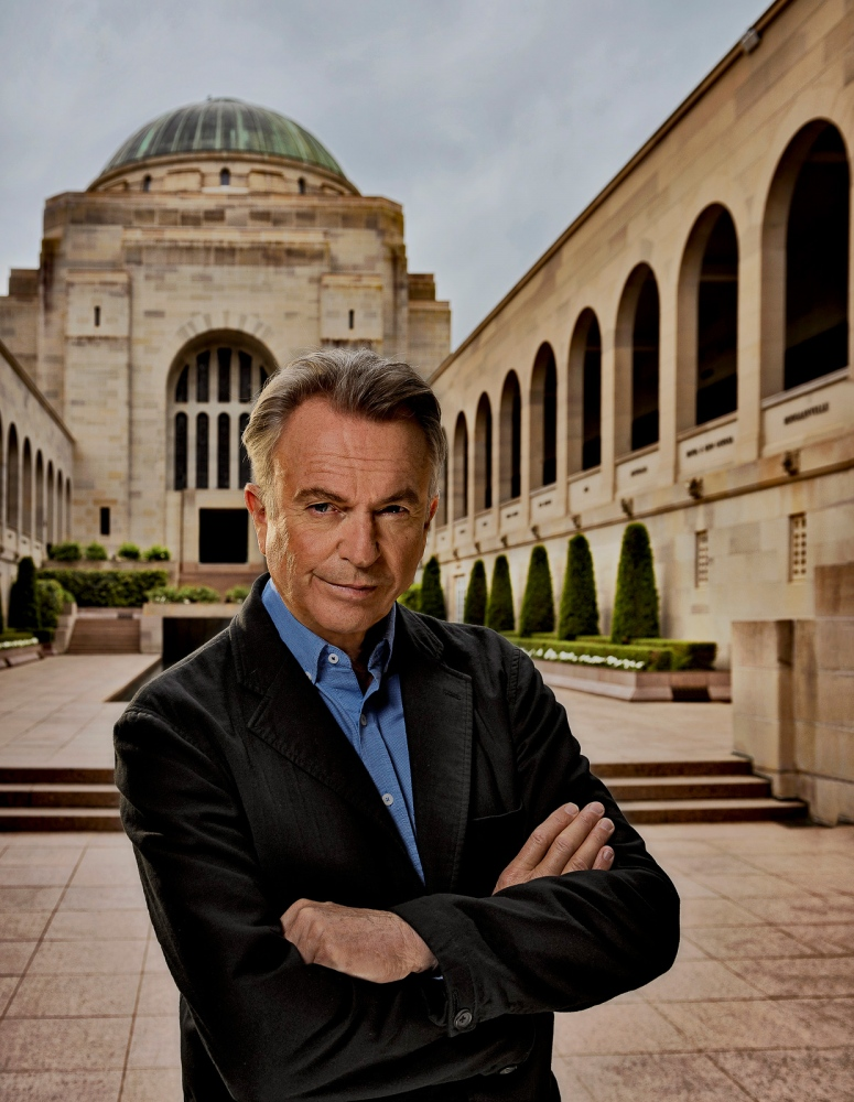 Sam Neill, Australian War Memorial