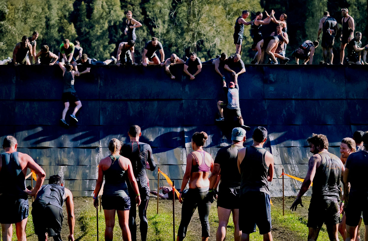 Tough Mud obstacle course