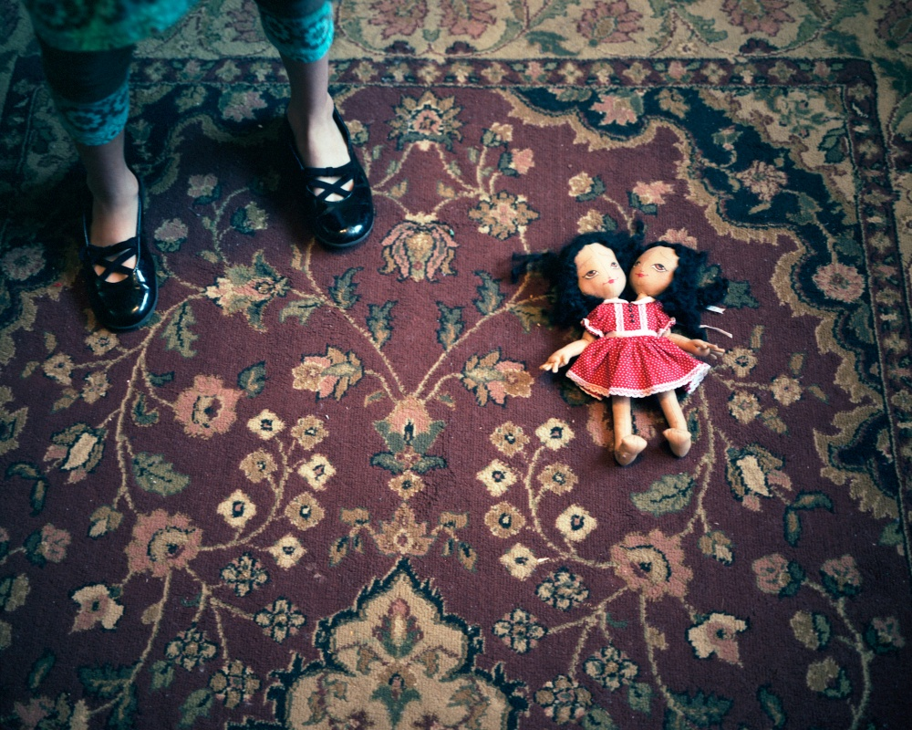 Carmen and Lupita's Doll, 2008