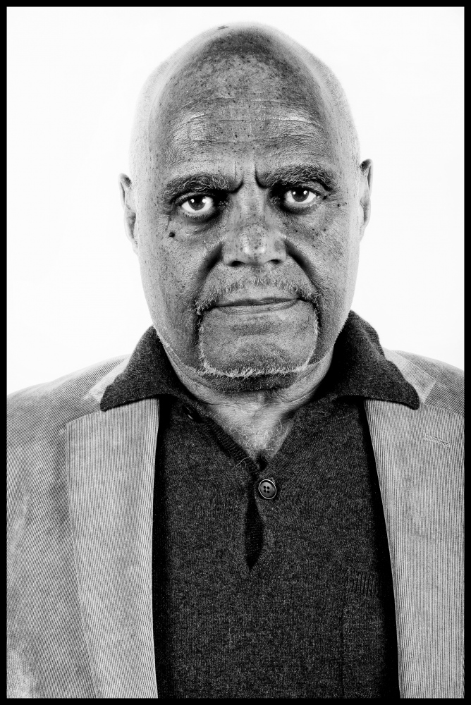 Civil Rights legend Bob Moses. This portait is now housed in the permenant collection at the Smithsonian  National Museum of African American History and Culture.