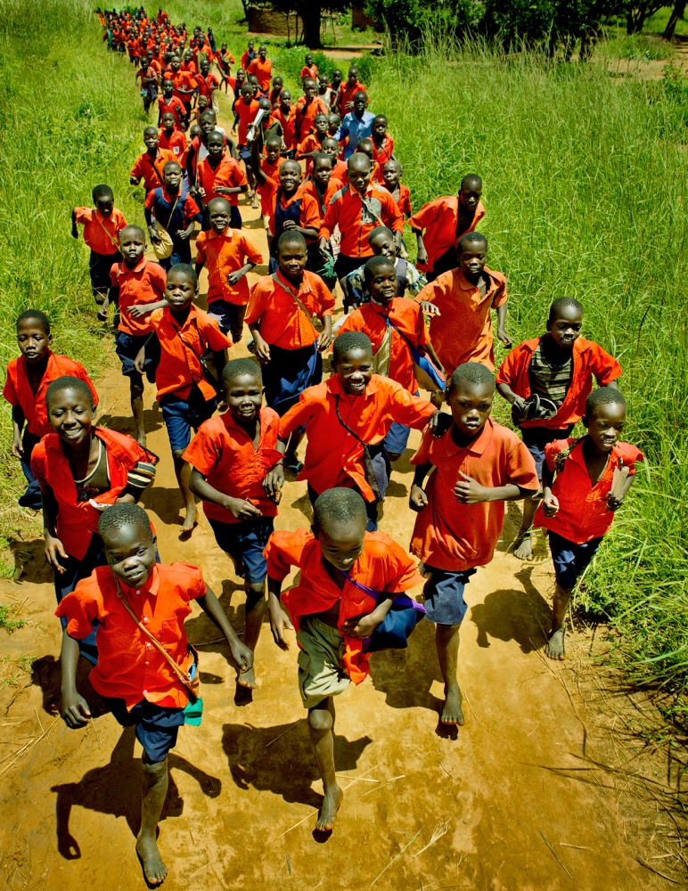 Irene Gleeson Foundation, Amida schoolchildren, North Uganda